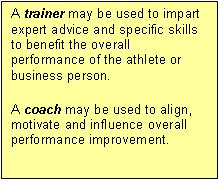 coaching training text